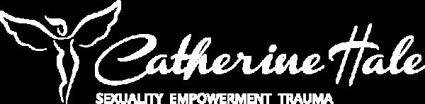 Catherine Hale logo in white