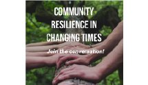 Community Resilience in Changing Times logo