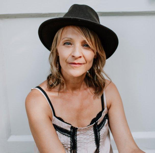 Catherine Hale, profile close up